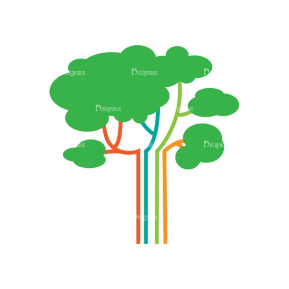 Nature Vector Set 2 Vector Trees 1