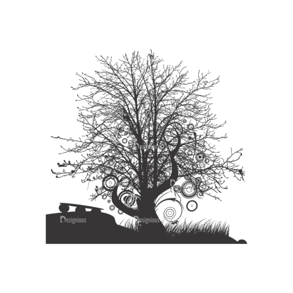 Normal Trees Vector 1 1 1