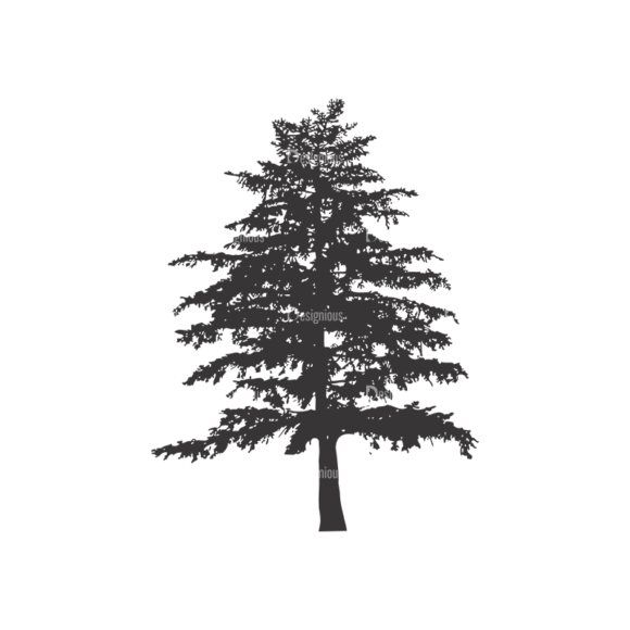 Normal Trees Vector 1 12 1