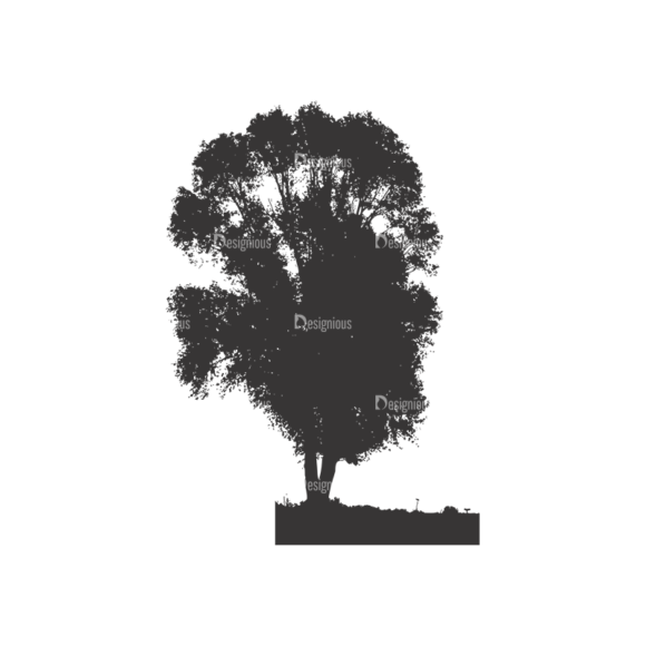 Normal Trees Vector 1 8 1