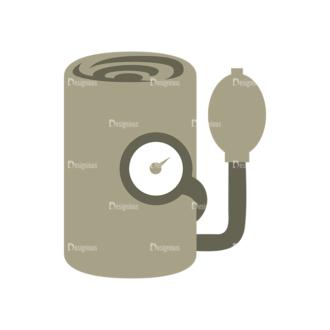 Nurse Vector Blood Pressure Monitor Clip Art - SVG & PNG vector