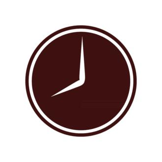 Office Vector Elements Set 1 Vector Clock Clip Art - SVG & PNG vector