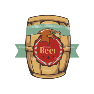 Oktoberfest Set 2 Vector Beer 21 Clip Art - SVG & PNG vector