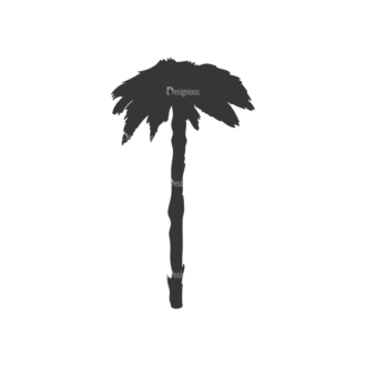 Palm Trees Vector 1 4 Clip Art - SVG & PNG palm