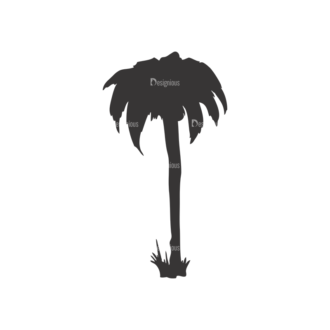 Palm Trees Vector 1 8 Clip Art - SVG & PNG palm