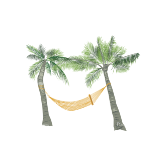 Palm Trees Vector 2 1 Clip Art - SVG & PNG palm