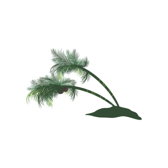Palm Trees Vector 2 6 1