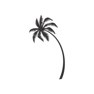 Palm Trees Vector 3 9 Clip Art - SVG & PNG palm