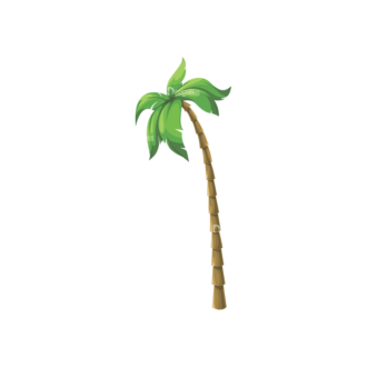Palm Trees Vector 4 5 Clip Art - SVG & PNG palm