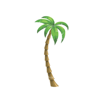 Palm Trees Vector 4 7 Clip Art - SVG & PNG palm