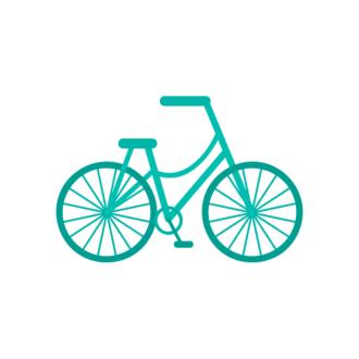 Paris Vector Bike Clip Art - SVG & PNG vector