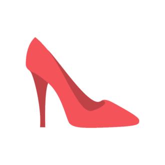 Paris Vector Shoes Clip Art - SVG & PNG vector