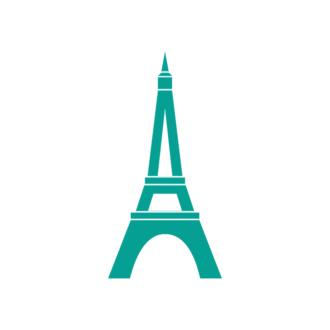Paris Vector Tower Clip Art - SVG & PNG vector
