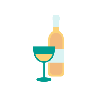 Paris Vector Wine Clip Art - SVG & PNG vector