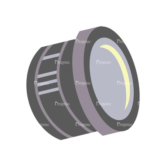 Photographer Vector Lens 1