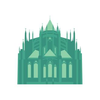 Prague Vector Castle 02 Clip Art - SVG & PNG vector