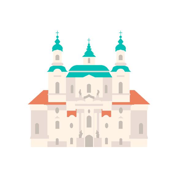 Prague Vector Castle 05 1