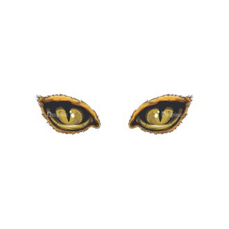 Predator Eyes Vector 1 2 Clip Art - SVG & PNG vector
