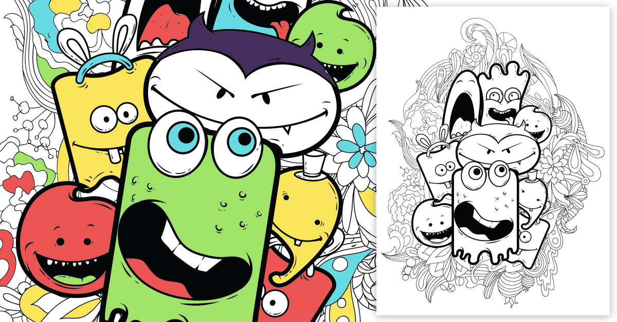 38 Free Coloring Pages 4