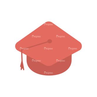 Professor Vector Graduation Cap Clip Art - SVG & PNG vector