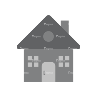 Real Estate Agent Vector House Clip Art - SVG & PNG vector
