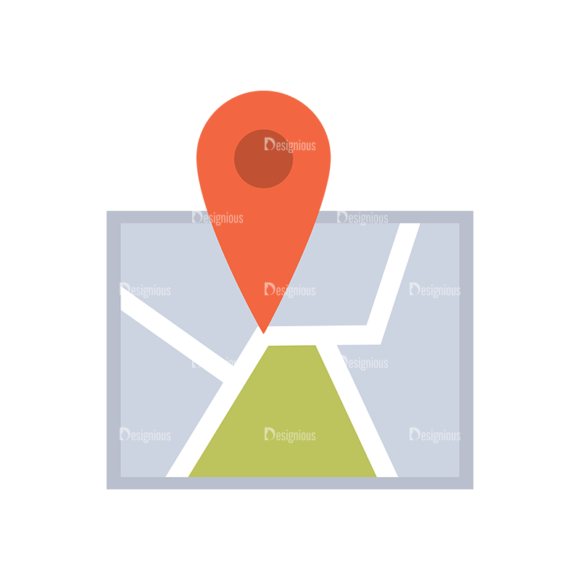 Real Estate Agent Vector Map 1