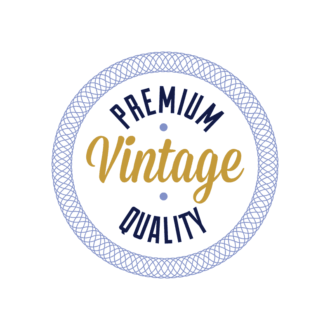 Retro Typography 2 Vector Expanded Bagdge 02 Clip Art - SVG & PNG vector