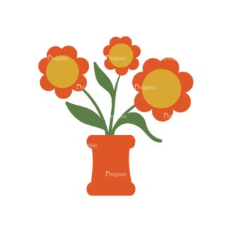 Romantic Vector Set 19 Vector Flowerss Clip Art - SVG & PNG vector