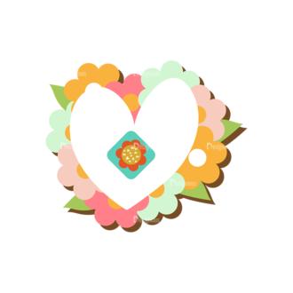 Romantic Vector Set 19 Vector Heart 12 Clip Art - SVG & PNG vector