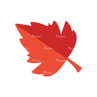 Romantic Vector Set 19 Vector Leaf Clip Art - SVG & PNG leaf