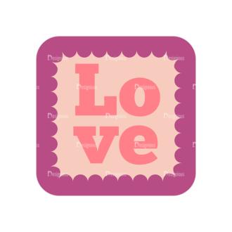 Romantic Vector Set 19 Vector Love 05 Clip Art - SVG & PNG vector