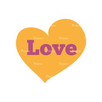 Romantic Vector Set 19 Vector Love 06 Clip Art - SVG & PNG vector