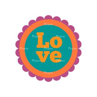 Romantic Vector Set 19 Vector Love 07 Clip Art - SVG & PNG vector