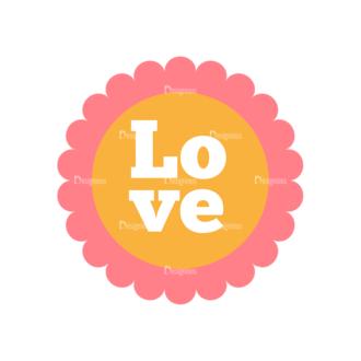 Romantic Vector Set 19 Vector Love 08 Clip Art - SVG & PNG vector