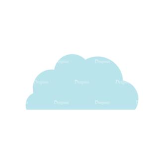Romantic Vector Set 2 Vector Cloud Clip Art - SVG & PNG vector