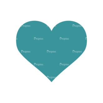 Romantic Vector Set 2 Vector Heart 02 Clip Art - SVG & PNG vector