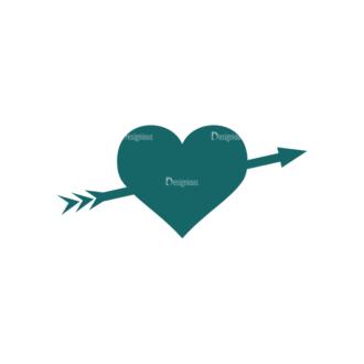 Romantic Vector Set 2 Vector Heart 03 Clip Art - SVG & PNG vector