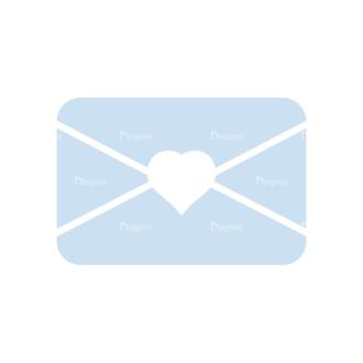 Romantic Vector Set 2 Vector Letter Clip Art - SVG & PNG vector