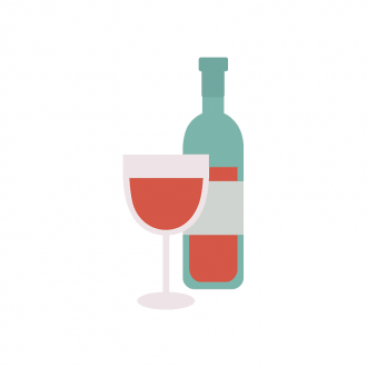 Rome Vector Wine Clip Art - SVG & PNG vector