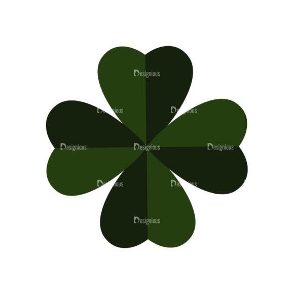 Saint Patrick'S Day Set 3 Vector Expanded Leaf saint patricks day set 3 vector expanded Leaf