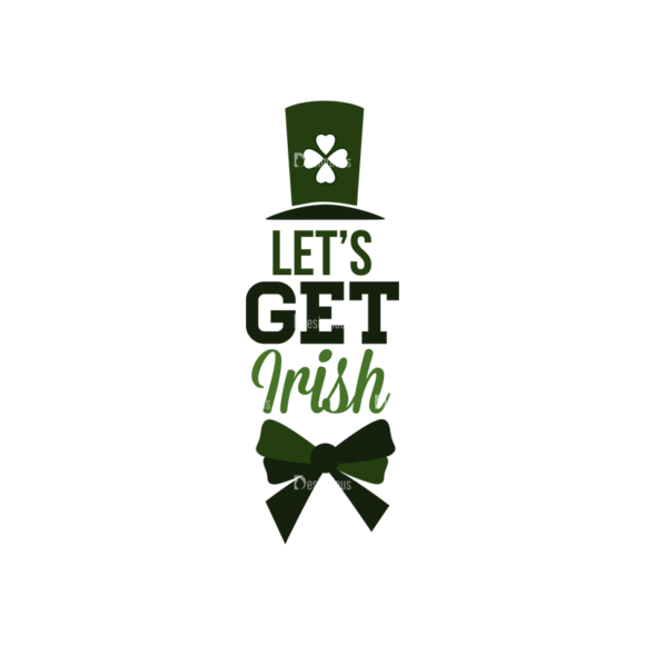 Saint Patrick'S Day Set 3 Vector Expanded Lets Get Irish saint patricks day set 3 vector expanded Lets get Irish