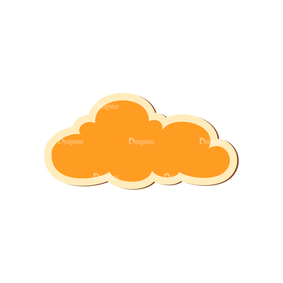 Scrapbooking Vector Large Cloud 17 scrapbooking vector large cloud 17