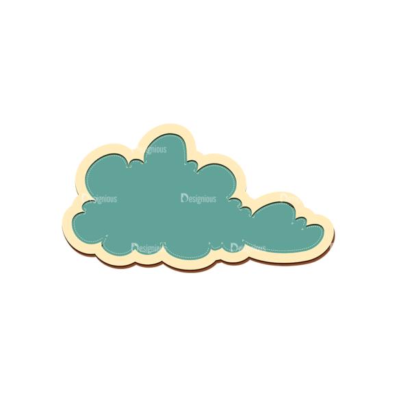 Scrapbooking Vector Large Cloud 20 5