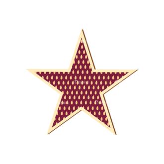 Scrapbooking Vector Large Star Clip Art - SVG & PNG star