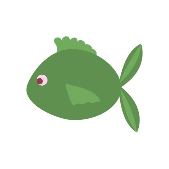 Sea Creatures Vector 4 Vector Fish 1