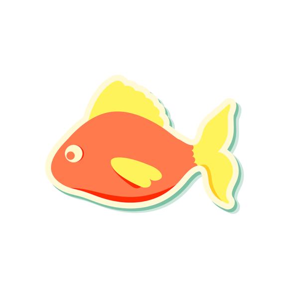 Sea Creatures Vector 5 Vector Fish 01 1