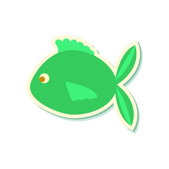 Sea Creatures Vector 5 Vector Fish 03 1