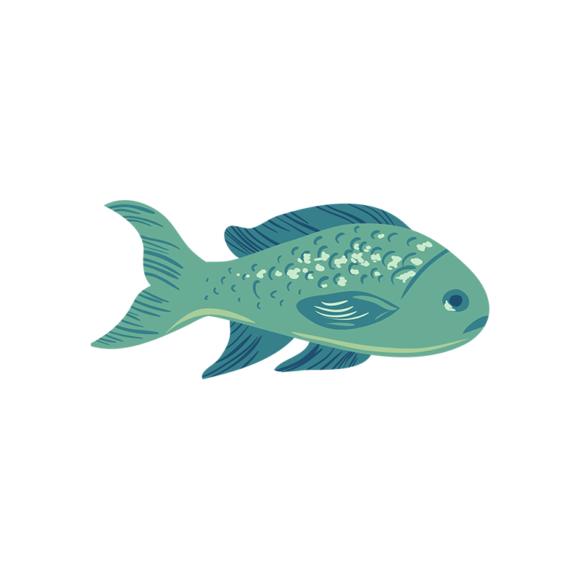 Sea Fauna Vector 3 Vector Fish 1