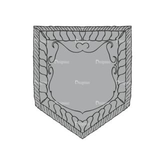 Shield Vector 1 10 Clip Art - SVG & PNG vector