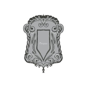 Shield Vector 1 12 Clip Art - SVG & PNG vector